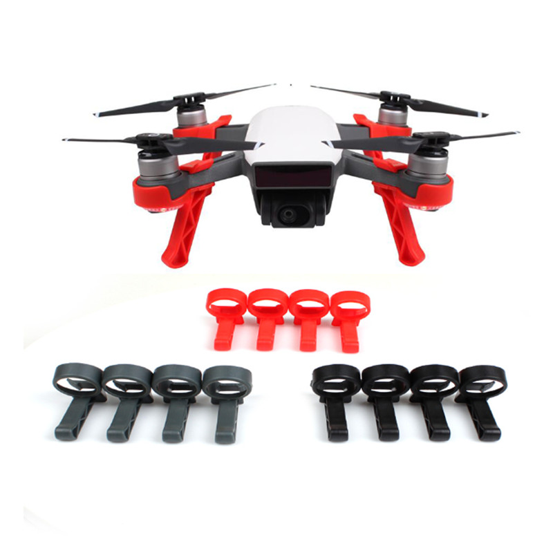 4PC For DJI Spark Drone Heightened Landing Gear Leg Extender Extension Guard Fast Installation Drone Accessories Mini Quadcopter