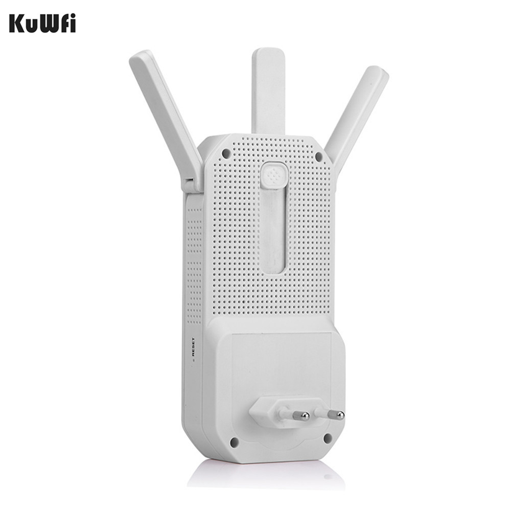 KuWFi 750Mbps Wireless WIFI Repeater Wifi Router Dual Band 2 4Ghz 5Ghz 802 11AC WIFI Extender Wi fi Roteador Wifi Amplifier in Wireless Routers from Computer Office