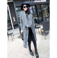 new pregnant women large lapel   long section   pregnant women sweater cardigan loose winter coat with scarf