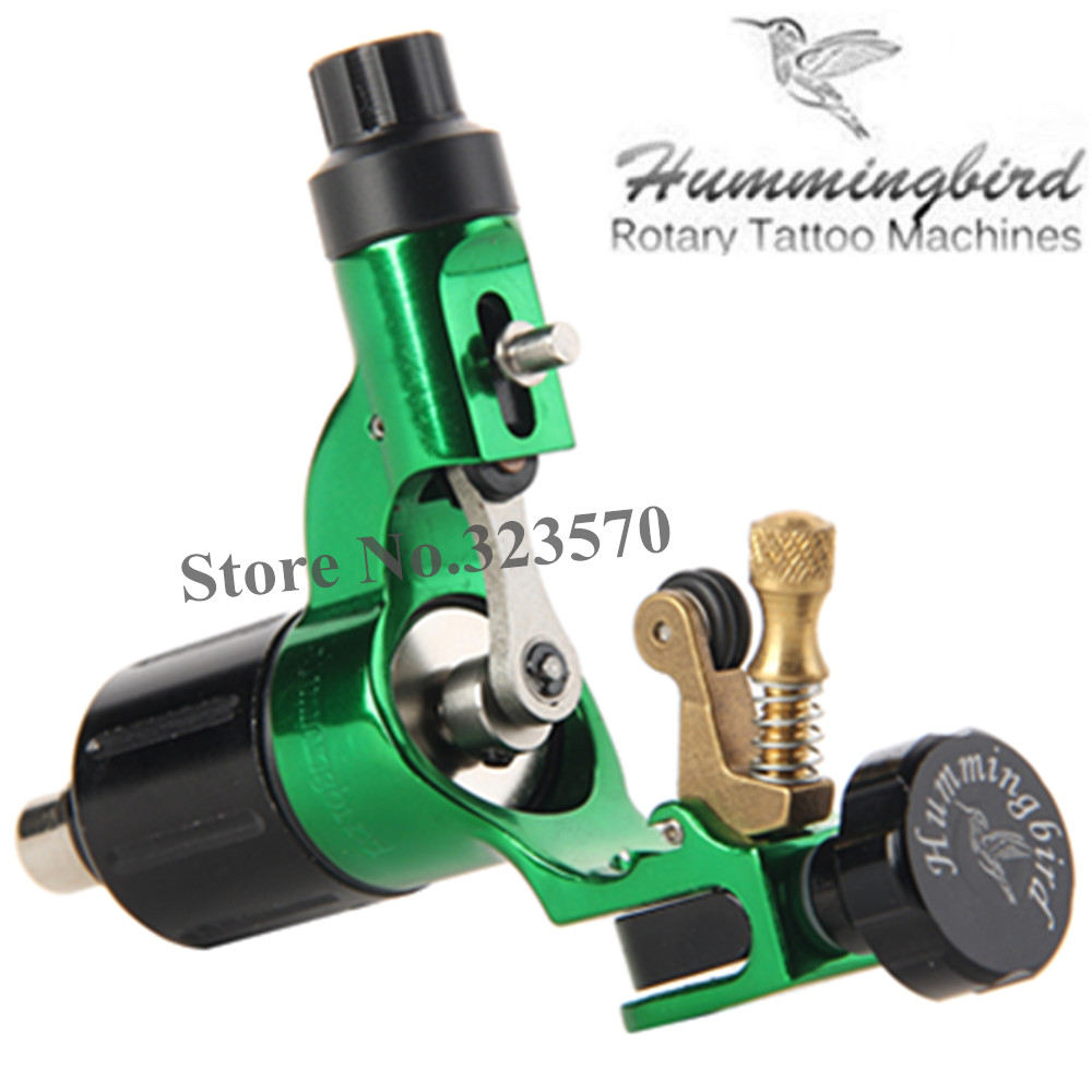 Original Hummingbird Green Gen 2 Rotary Tattoo Machine Swiss Motor Free RCA Cord рюкзак hummingbird nk5