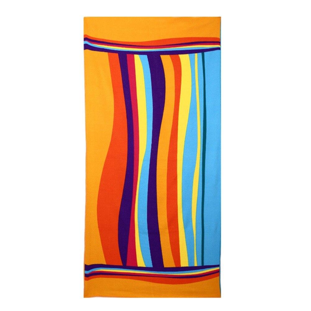 4 üslubda Microfiber Meydanı Çimərlik Dəsmalı Super uducu - Ev tekstil - Fotoqrafiya 6