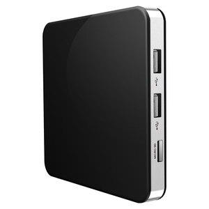 Image 3 - Tvip 605 Doppio SISTEMA OPERATIVO Android e Linux OS Amlogic S905X 2.4G/5G WiFi 4K Per Nordic francia Arabo Set Top Box Solo Nessun canale incluso