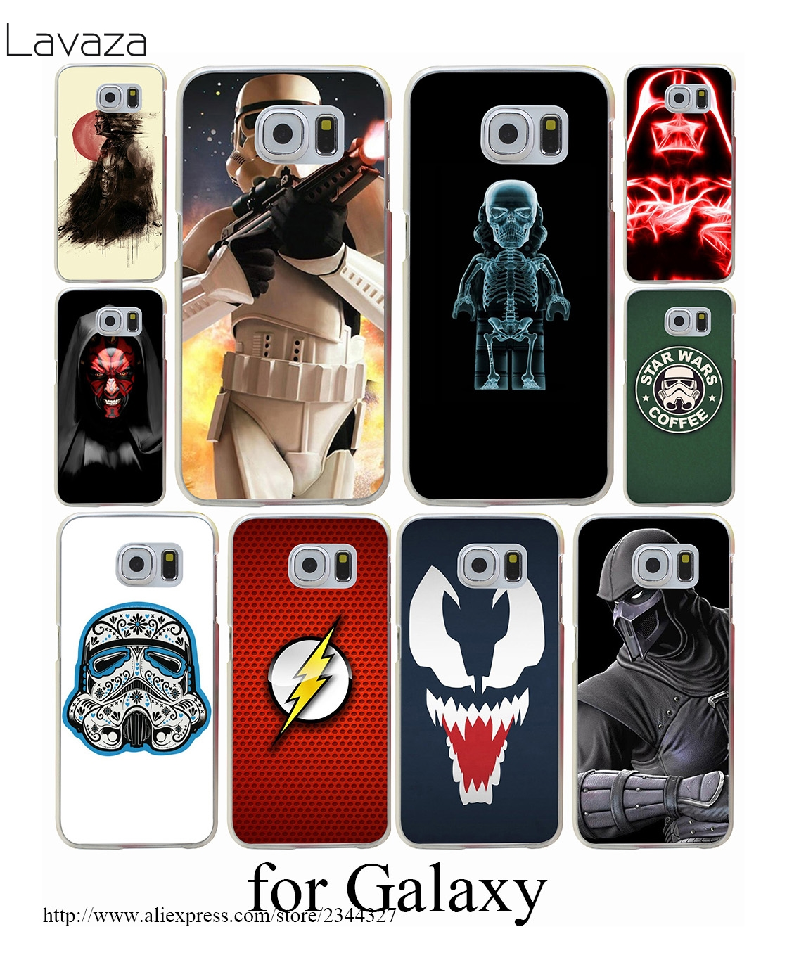 Lavaza Star wars battlefront galactic Hard Case Cover for Samsung Galaxy S3 S4 S5 Mini S6 S7 S8 S9 Edge Plus Case