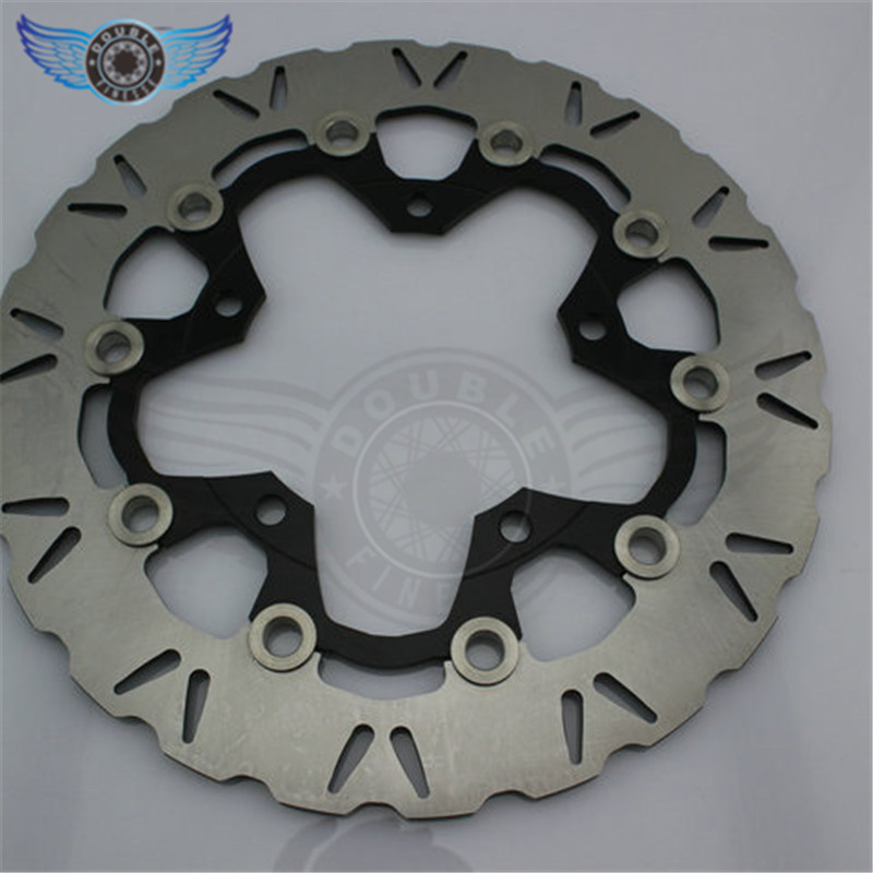 new brand  2pieces  motorcycle accessories  Front Brake Disc Rotor for SUZUKI GSF1250 BANDIT ABS/NON 2007 2008 2009