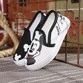 Nueva venta caliente de la lona zapatos de los niños zapatos de los niños chicos primavera de algodón diseño niños niñas zapatos niños de la manera zapatillas de deporte