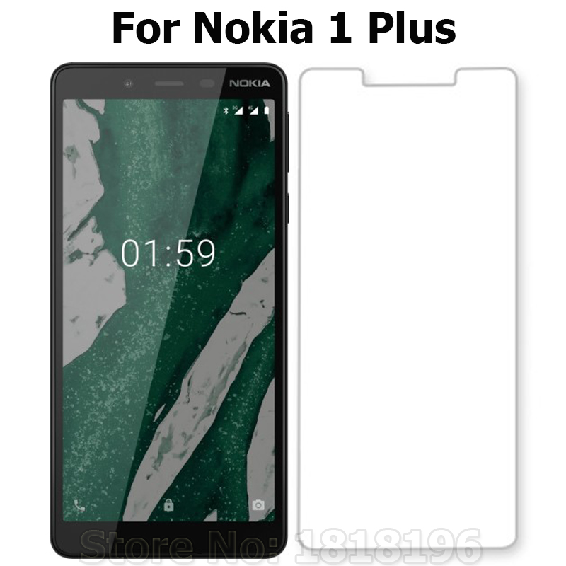 Tempered Glass For Nokia 1 Plus Screen Protector 9H Toughened Protective Phone Front Film For Nokia 1 Plus 2019 5.45