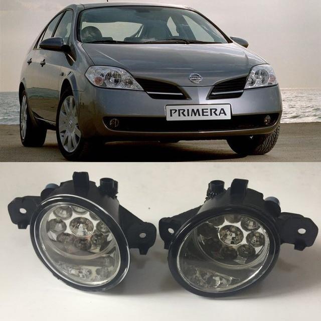 For Nissan Primera P12 Saloon Hatch 2001 2008 9 Pieces Leds Fog ...