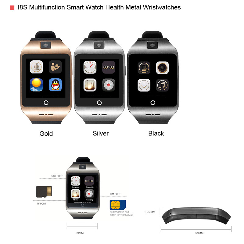 Bluetooth smart Watch Bracelet supports 3D 320*320 HD NFC slim arc