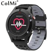 Дешевые Colmi сердечного ритма Мониторы GPS Multi-спортивный режим OLED высотомер Bluetooth Фитнес трекер IP67 поля F5 Смарт-часы