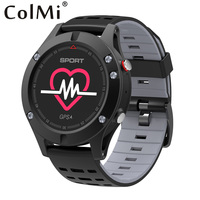 COLMI Heart Rate Monitor GPS Multi Sport Mode OLED Altimeter Bluetooth Fitness Tracker IP67 BRIM F5