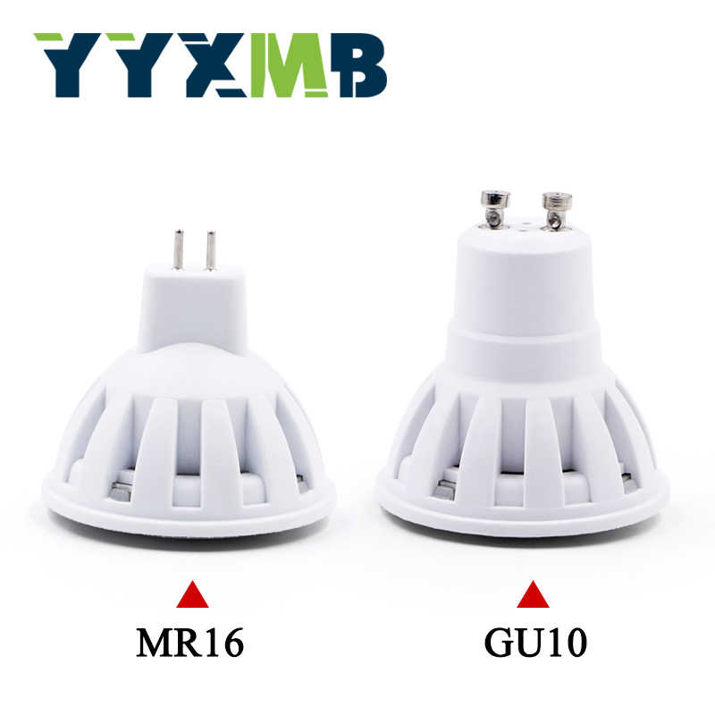 YYXMB LED Bulb 2W 3W 4W 5W 6W 220V Lamp LED Lamp GU10 MR16 LED Condenser lamp Diffusion Spotlight Energy Saving Home Lighting
