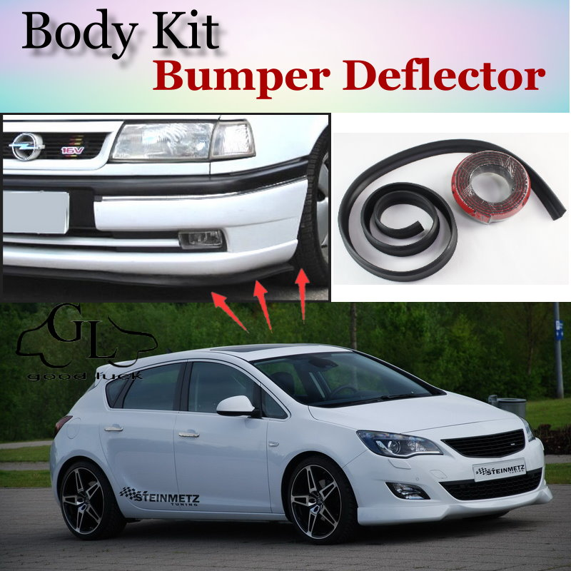 Bumper Lip Lips For Opel Astra J 2009~2015 / Spoiler / Body Kit  Scratch Proof Adhesive / Car Scratch Proof Adhesive Strip|car spoiler kits|car spoiler|spoilers for cars - title=