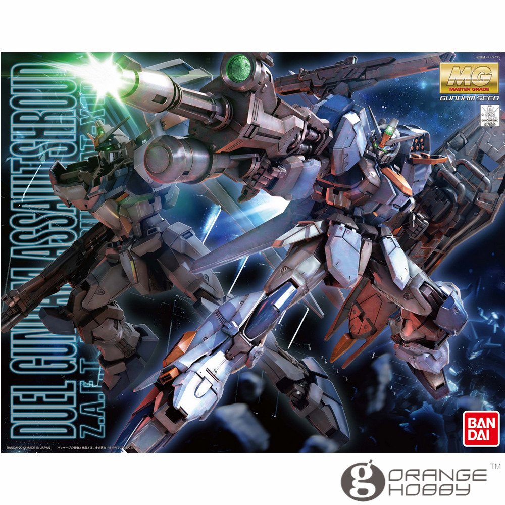 OHS Bandai MG 152 1/100 GAT-X102 Duel Gundam Assault Shroud Mobile Suit Assembly Model Kits ohs bandai mg 185 1 100 ppgn 001 gundam exia dark matter mobile suit assembly model kits