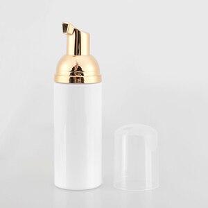 Image 4 - 50 ml פלסטיק קצף משאבת בקבוק איפור פנים קרם מנקה ברור לבן קצף סבון Dispenser למילוי בקבוקי 20 יח\חבילה