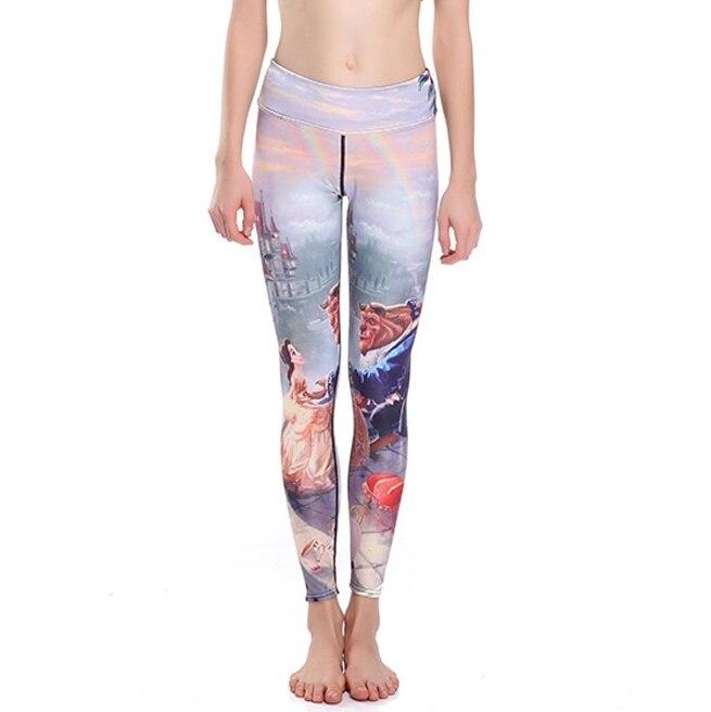 Sexy font b Women b font Slim Fairy Tale Yoga Pants font b Leggings b font