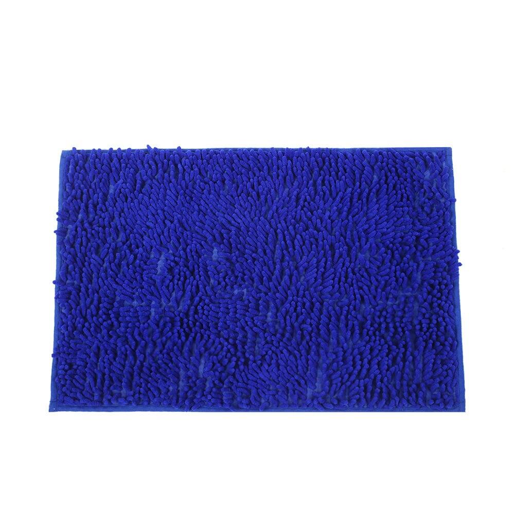 Mat For Chenille Velvet Wire Non Skid Living Room Bathroom Carpet Floor