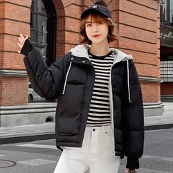 new Hooded Collar Female Coat Winter Womens Outwear Winter Jackets Autumn Cotton Padded Chaqueta Mujer Invierno 3