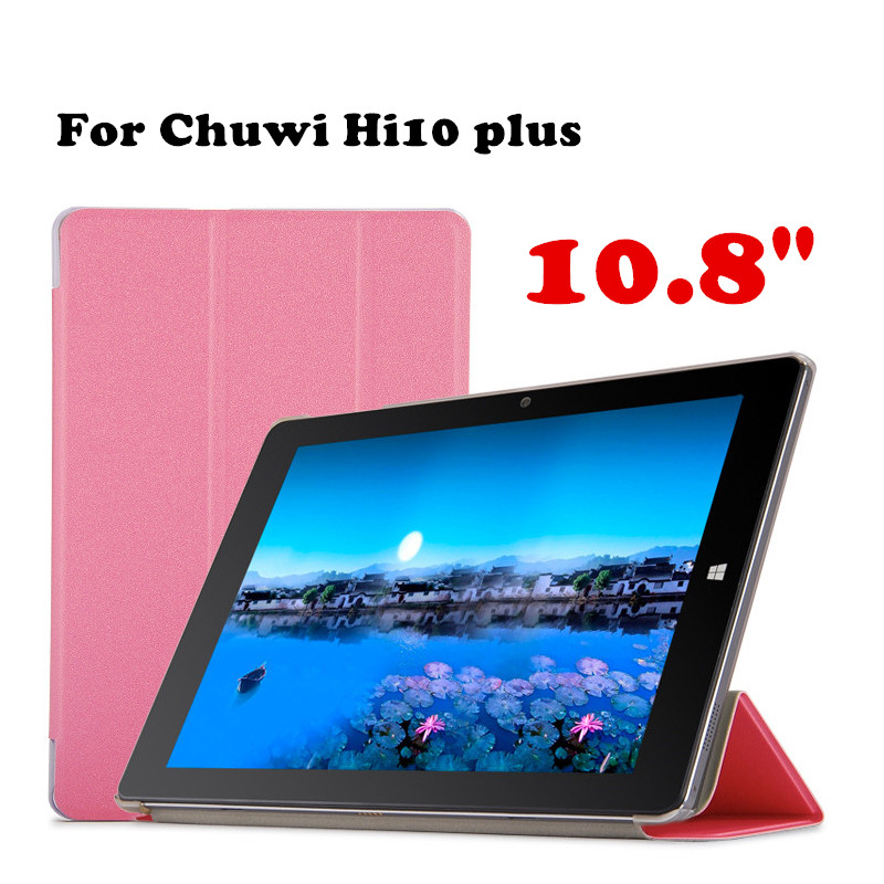 Original case Protective shell For Chuwi Hi10 Plus 10.8 inch Tablet PC Case PU Leather Case Flip Cover +Film