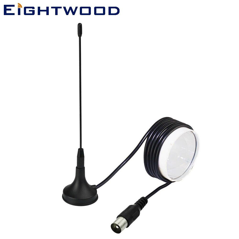 Eightwood 174-230 МГц 470-862 МГц 5dBi цифровой DVB-T ТВ антенна ТВ мужской антенна усилитель Freeview для DVB-T ТВ HD ТВ коробка