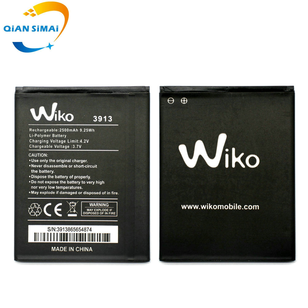 QiAN SiMAi 1PCS New High Quality 5251 Battery For WIKO 3913 LENNY4 LENNY 4 Mobile Phone