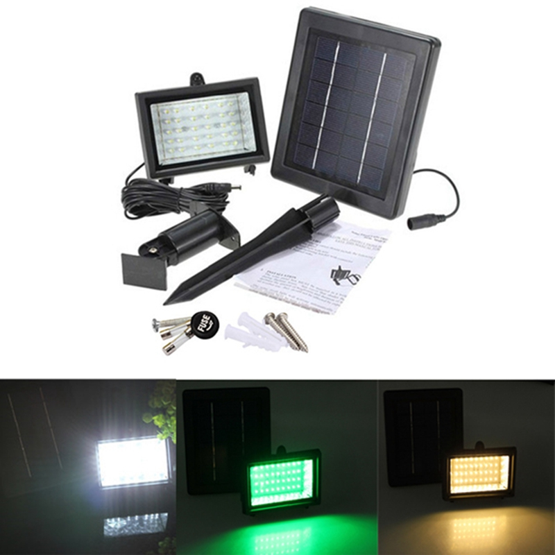 Aliexpress.com : Buy Solar Lamps 40 LED Path Spot Wall
