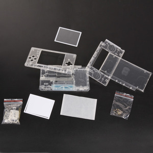 Image 2 - החלפת משחק רפידות מקרה מעטפת עבור Nintend DS Lite שיכון מעטפת מסך עדשת קריסטל ברור מלא דיור עבור נינטנדו DSL DSL