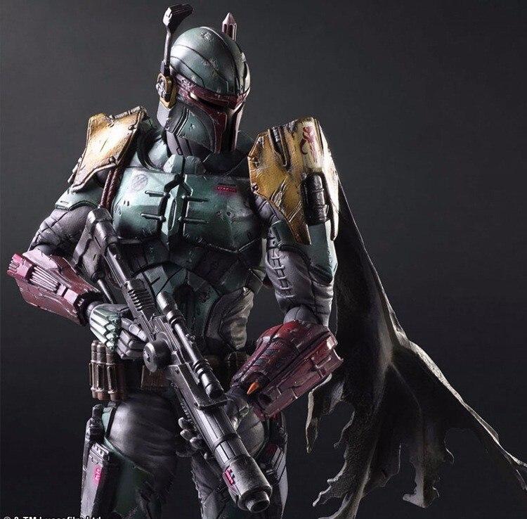 26 cm PVC Action Figure Poupée Jouets Enfants Cadeau Jouer Arts Star War Imperial Stormtrooper Darth Vader Bounty Hunter Boba fett