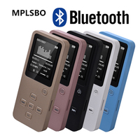MPLSBO MP4 Bluetooth HiFi 16G 32GB MP3 MP4 Music Player 1.8 TFT Screen Support Pedo Meter E book FM Radio Voice Recorder