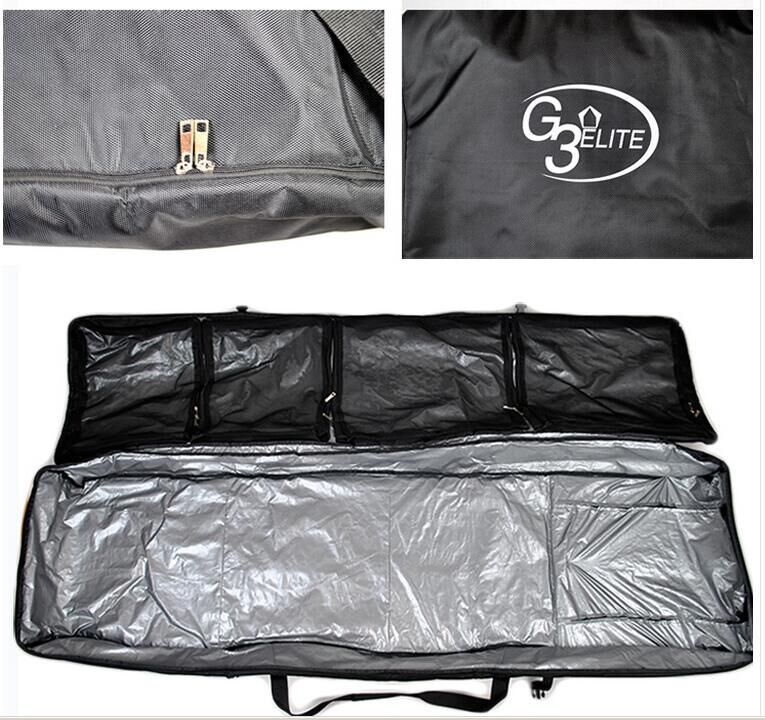 f6da7655842a 165Cm with 3 wheels Snowboard Bag Large capacity   very wide   Drag Skis  Bag Pulley Ski A4788-in Skiing Bags from Sports   Entertainment on  Aliexpress.com ...
