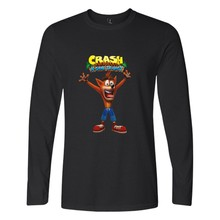 Two Step Crash Bandicoot T Shirt Men Women Fitness Casual T-shirt Many Fashion Style Long Sleeve Tops Tees