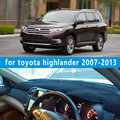 dashmats car-styling accessories dashboard cover for Toyota Highlander Kluger xu40 2007 2008 2009 2010 2011 2012 2013 rhd