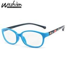 Детский синий светильник, блокирующие очки, детские солнцезащитные очки, оптическая оправа, прозрачный фильтр для очков, уменьшает цифровое напряжение глаз, игровой