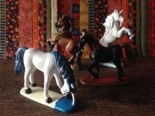 PVC figure Doll model toy Myths and legends scene model toy unicorn ornaments 4pcs/set