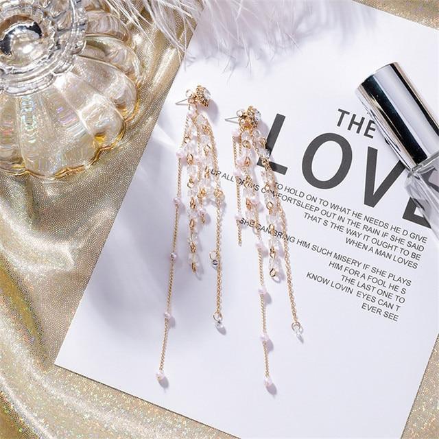 Фото винтажные многослойные длинные очаровательные жемчужные бриллианты цена