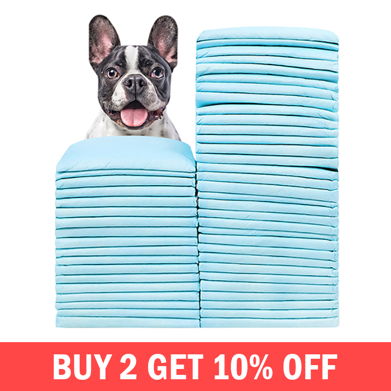 50pcs/set Dog Diapers Absorbent Litter Housebreaking Diaper Training Pee Pad Nappy Pets Dogs Puppy Cleaning Supplies Products50pcs/set Dog Diapers Absorbent Litter Housebreaking Diaper Training Pee Pad Nappy Pets Dogs Puppy Cleaning Supplies Products