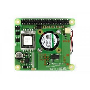Image 3 - Raspberry Pi 3 Model B+ Power over Ethernet HAT 802.3af PoE Network Power Sourcing Equipment required support only RPI 3B+