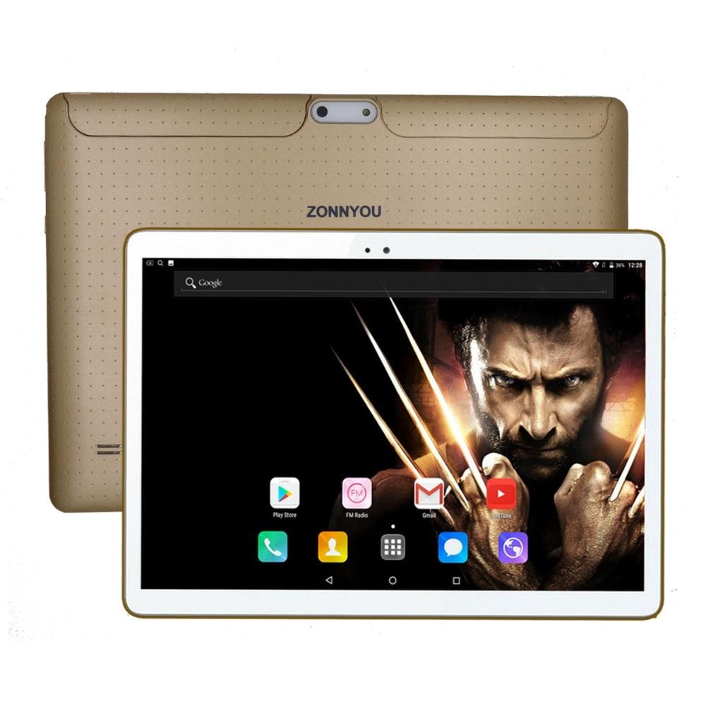 10.1 inch Tablet PC Android 7.0 3G Phone Call Octa Core 4GB+32GB Dual SIM Blueto