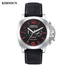 Relojes ยี่ห้อผู้ชายนาฬิกาอัตโนมัตินาฬิกากันน้ำกีฬาชายนาฬิกา KIMSDUN Hombre