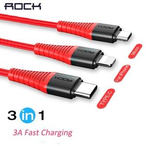 ROCK 3 in 1 Hi-Tensile USB Typ