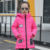 Meninas criança amassado outerwear jaqueta de médio-longo algodão-acolchoado espessamento jaqueta casaco de roupas de inverno meninas das crianças