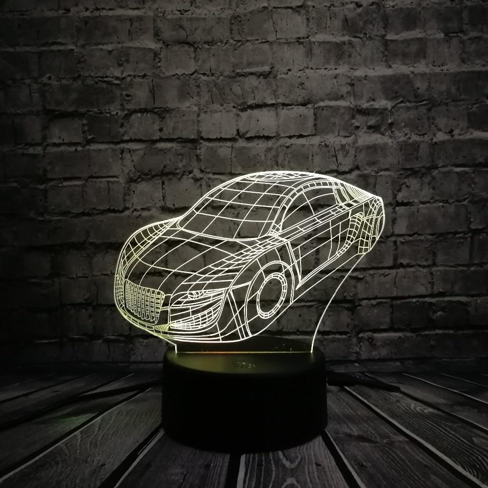 KARSTĀ PĀRDOŠANA Super Roadster GTR sporta automašīnas modelis - Nakts gaismas