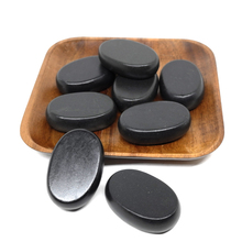 4x6cm Spa hot Stone Beauty Stones Massage Lava Natural Hot Relieve Stress RELAX jade massage set toe