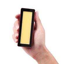 Aputure AL MW Vídeo impermeable luz LED buceo natación Luz de relleno para DSLR Gopro 7 6 5 Osmo acción Mini iluminación fotográfica