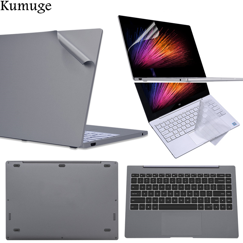 Laptop Sticker For Xiaomi Mi Notebook Air 125 133 Pro 156 Full Set Body Vinyl Decal Computer Skin For Xiaomi Keyboard Cover