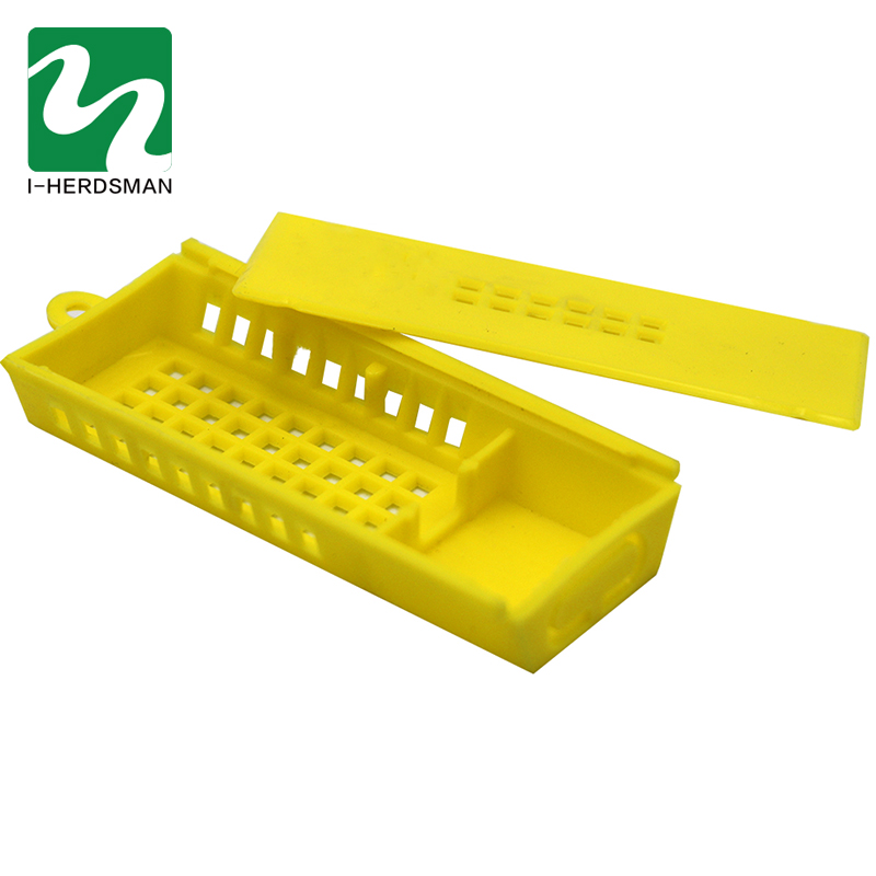 200pc Bee House Queen Cage Beekeeping Transport Cage Mailing Bee Beehive Yellow Bee Cage Transport Cage Bee Equipment Whole