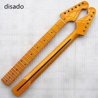 Disado 21 Frets inlay dots Cuello de la Guitarra Eléctrica Partes de Guitarra accesorios para instrumentos Musicales