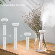 Portable USB White Dismountable Air Humidifier for Home Office Aromatherapy Diffuser Mist Maker Ultrasonic Humidifiers Diffusers цена и фото