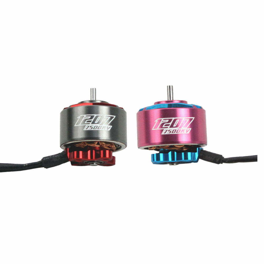Image 5 - 4PCS RCINPOWER GTS V2 1207 5000/6000KV 3 4S 7500KV 2 3S Brushless Motor for RC Drone FPV Racing Tinywhoop Cinewhoop-in Parts & Accessories from Toys & Hobbies