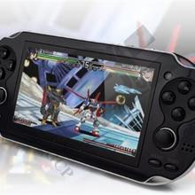 HaoLongGCP 4.3 Inç El Oyun Oyuncu 8 GB 32 Bit Video Oyun konsol Destek TV Out Koymak yüz Oyunları Inşa Çift Rocker
