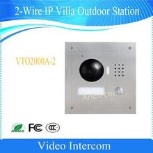 DAHUA 2-Wire IP Villa Outdoor Station Night vision IP54 IK07 DHI-VTO2000A-2
